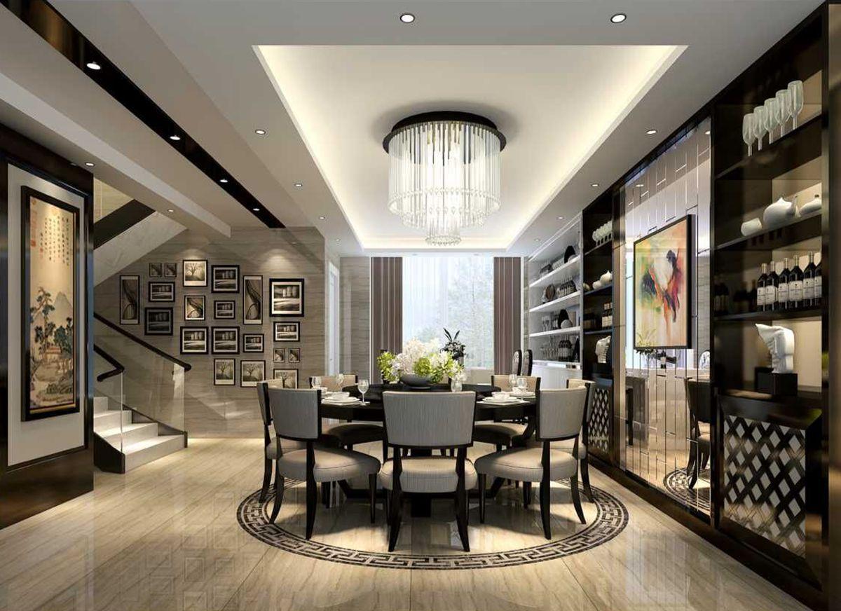 中海名城500平方米现代简约风格设计