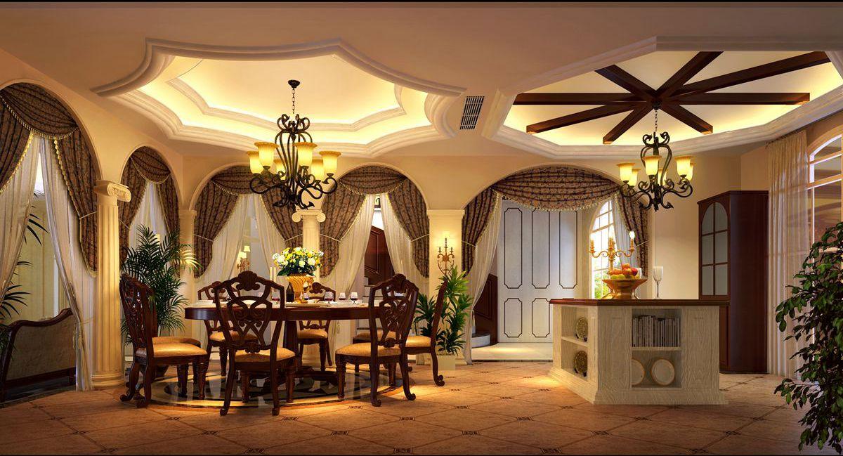 温江芙蓉古城560平方米现代美式风格设计